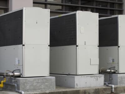 修理サービスの適用例 ガスヒートポンプエアコンの修理の画像