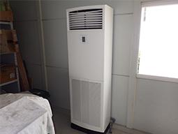 床置形空調機の更新の画像