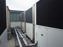 空調設備の更新工事の画像